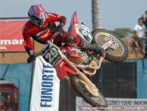 Bruno Mota, vice-campeão Circuito Inter TV de Supercross - 2008