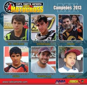 CAMPEÕES MX 2013