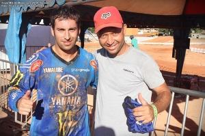 O espanhol Carlos Campano #115, foi o grande vencedor da 1º etapa, na MX1